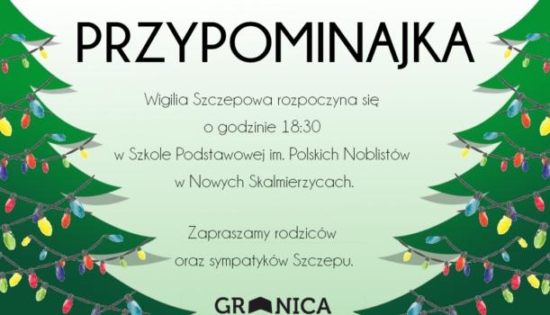 Wigilia Szczepowa!